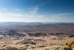 Hausse dans le désert du Néguev de l'Israël photographie stock