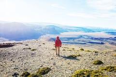 Hausse dans le Patagonia photo libre de droits