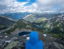 Hausse dans les montagnes 5 Photos stock