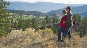 Hausse de couples Images libres de droits