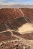 Hausse de cratère d'Amboy Photo libre de droits