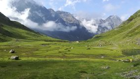 Hausse de haut Pyrénées Image libre de droits