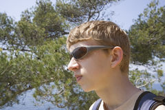 Hausse de l'adolescence Photo libre de droits