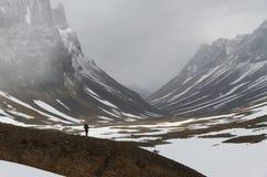 Hausse de la Laponie image libre de droits