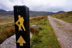Hausse de la montagne en Irlande Image stock