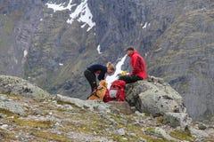 hausse de la Norvège Image stock
