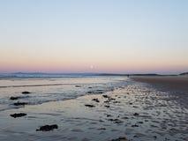Hausse de lune Photographie stock libre de droits