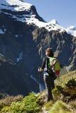 Hausse de montagne Photo libre de droits