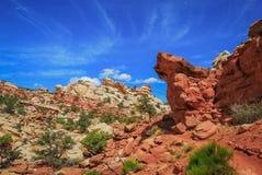 Hausse de Pan Trail faisant frire photographie stock libre de droits