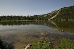 Hausse de soleil en parc national de Banff Photo libre de droits