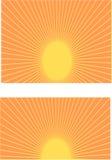 Hausse de Sun Images libres de droits