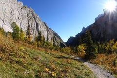 Hausse de Zugspitze Photo libre de droits
