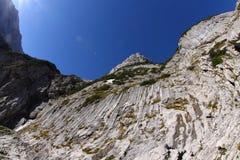 Hausse de Zugspitze Photos libres de droits