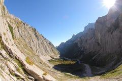 Hausse de Zugspitze Images libres de droits