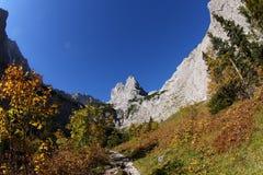 Hausse de Zugspitze Images stock