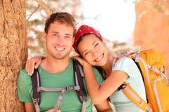 Hausse du jeune portrait de couples Image libre de droits