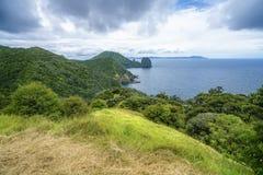Hausse du passage couvert côtier de Coromandel, le Nouvelle-Zélande 23 image stock