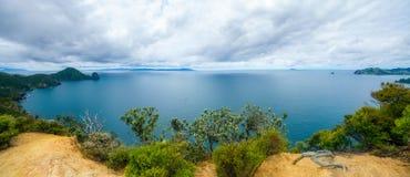 Hausse du passage couvert côtier de Coromandel, le Nouvelle-Zélande 5 photographie stock
