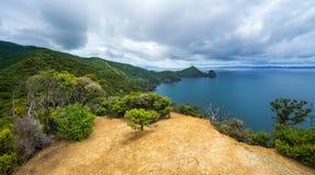 Hausse du passage couvert côtier de Coromandel, le Nouvelle-Zélande 1 images stock