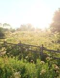 Hausse du soleil de matin Photographie stock libre de droits