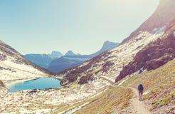 Hausse en stationnement de glacier photo libre de droits