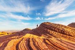 Hausse en Utah image stock
