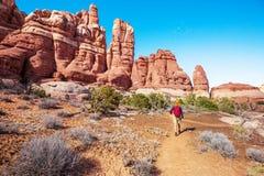Hausse en Utah image libre de droits