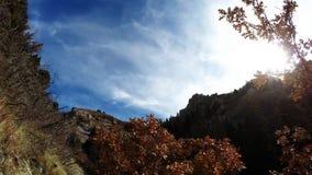Hausse pinte 2 de traînée de canyon de Battle Creek clips vidéos