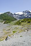 Hausse près du glacier Aventure en San Carlos de Bariloch Photos libres de droits