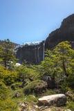 Hausse près du glacier Aventure en San Carlos de Bariloch Photos stock