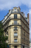Haussmann building in Paris Royalty Free Stock Images