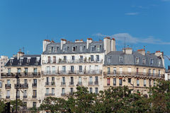 Haussmann's architecture in Paris Stock Photos