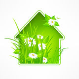 Haussymbol Lizenzfreies Stockfoto