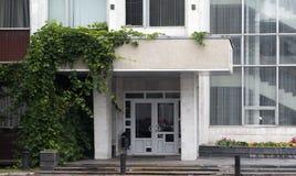 Haustür des Bürogebäudes Lizenzfreie Stockfotografie