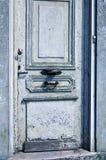 Haustür in Frankreich Stockfotografie