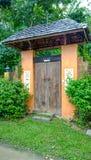Haustür in Phuket Thailand Lizenzfreie Stockbilder