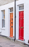Haustüren Stockfoto
