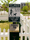 Haustier-Abfall Stockfotos