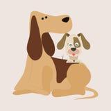 Haustier-Vektor lizenzfreie abbildung