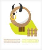 Haustiere. Bull A stock abbildung