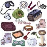 Haustierpflege realistisch Lizenzfreie Stockfotografie