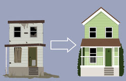 Hausumgestaltung Lizenzfreie Stockbilder