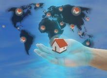 Hausversicherung Lizenzfreies Stockfoto