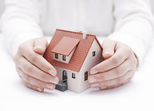 Hausversicherung Lizenzfreie Stockfotos