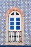 Hausmauer mit Fenster Stockbilder