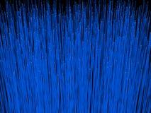 Haut étroit de câbles optiques de fibre rendu 3D des câbles optiques de fibre Image stock