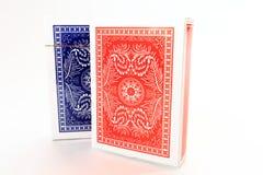 Haut étroit de cartes de tisonnier Photo libre de droits