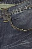 Haut étroit de jeans de denim Photo libre de droits