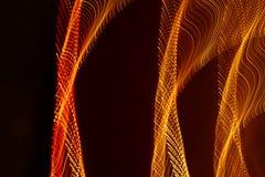 Haut étroit de longues lumières d'exposition Photo libre de droits
