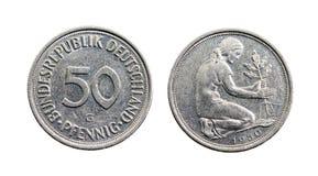 Haut étroit de pièce de monnaie Photo libre de droits